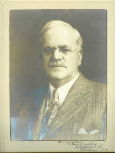 Silvester Schiele, 1939 Portrait given to his nephew Roscoe S. Yegerlehner