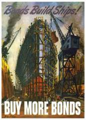 Bonds build Ships. Buy More Bonds, 1943 Artist: George Picken  Library of Congress Prints and Photographs Division
