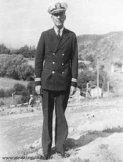 Lt. Roscoe S. Yegerlehner, mostly likely in the Solomon Islands