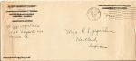 July 11, 1942 (630 PM post) Envelope