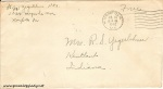 July 14, 1942 Envelope