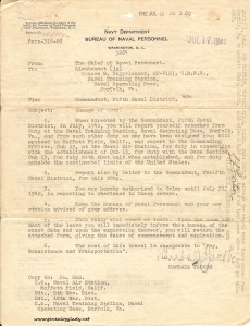 1942-07-17 - Change of Duty, p. 1