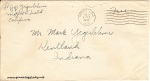 August 1, 1942 (postmark 8/2) envelope addressed to Mark Yegerlehner