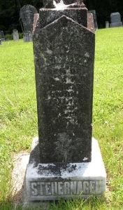 Photograph of gravestone by Tonya & Keith Tetidrick from Find A Grave