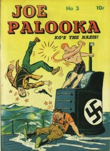 Joe Palooka comic book from 1942 (Image from Wikipedia)