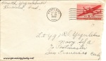 October 24/25, 1942 Envelope
