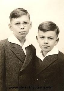 John and Mark, circa 1942