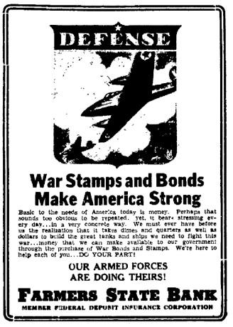 War Stamps & Bonds