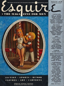 Esquire magazine cover - 1940s
