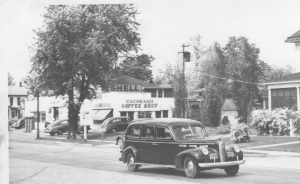The Hufty's ambulance in which the grand trip to Lafayette was made. (Photograph courtesy of the Hufty family)