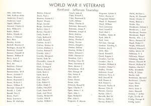 Kentland's World War II veterans, part 1