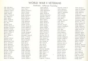 Kentland's World War II veterans, part 1