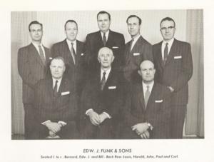 Edward J. Funk & sons, c1960s