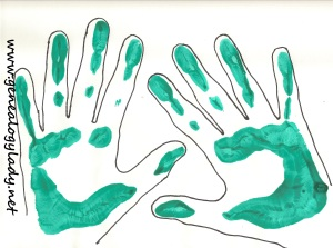 Handprints, 2013
