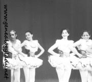 Ballet recital, early 1980s