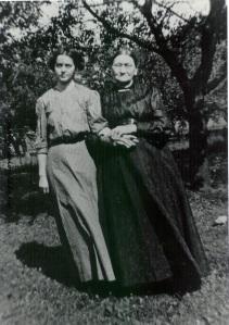 Grace Wolf & Elizabeth (Schwartz) Yegerlehner
