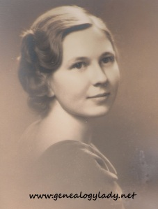 Louise - College Graduation, 1936