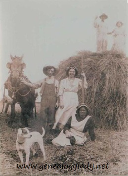 McCammon, Lydia & Jesse with Minerva Metcalf