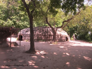 Plymouth - Plantation Wampanog village