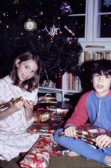 My brother and I - Christmas 1979