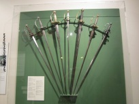 Swords on display