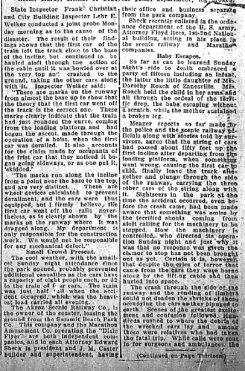 Roller Coaster accident - 1918-07-08, part 2