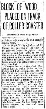Roller Coaster accident - 1918-07-08, part 3