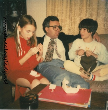 Yegerlehner, David with Deb & Si - Holden, Massachusetts, 1980-12-20 #2