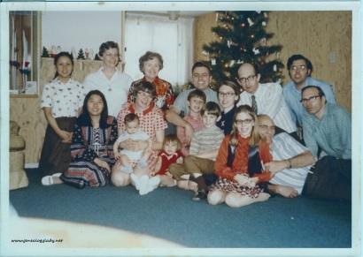 Yegerlehner Family Christmas - 1971