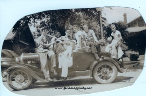 1930s - Youth & a car