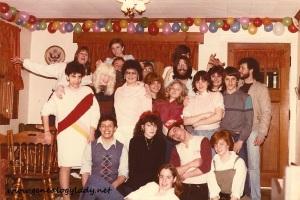 1985 - Suzanne's birthday #1