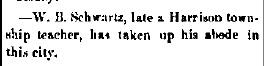Schwartz, W. B. - 1883-03-15