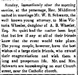Schwartz, W. B. - 1886-05-20