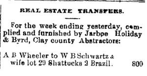 Schwartz, W. B. - 1887-08-18