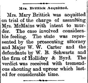 Schwartz, W. B. - 1889-07-25
