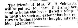 Schwartz, W. B. - 1891-01-07