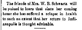 Schwartz, W. B. - 1891-01-08