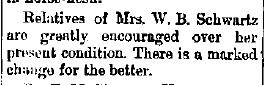 Schwartz, W. B. - 1891-03-05