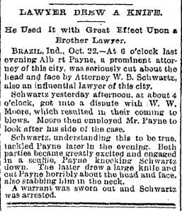 Schwartz, W. B. - 1892-10-22