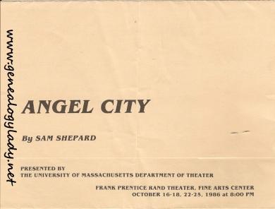 UMASS - 1986-10, Angel City