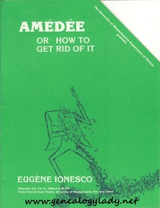 UMASS - 1986-12, Amedee or How to Get Rid of It