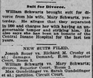 Schwartz, W. B. - 1900-05-26