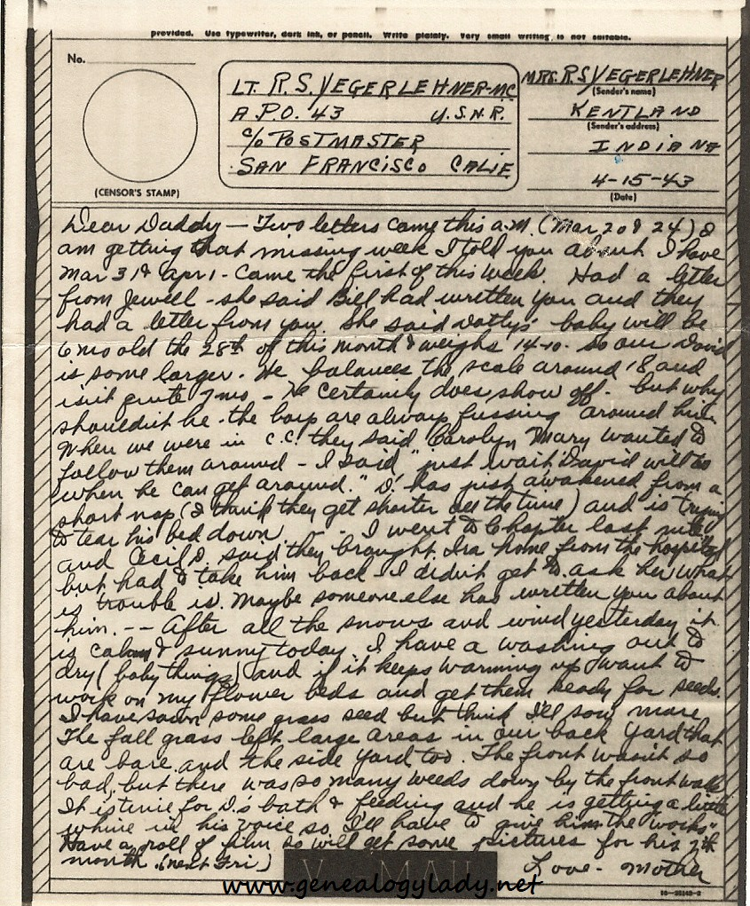 letter world war ii and letters The collection contains letters written by servicemen during world war ii to friends and relatives all over the us the letters primarily discuss family and home.