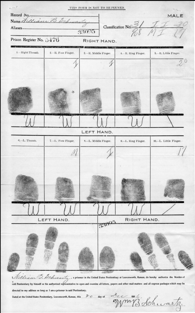 Schwartz, W. B. - Fingerprints