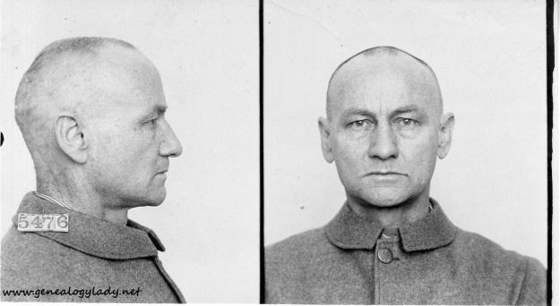 Schwartz, William B. - Inmate 5476 (1906) #2