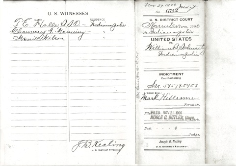 United States vs. William B. Schwartz Cover