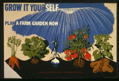 Victory Garden WPA poster