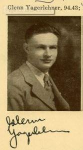 Yagerlehner, Glenn - Caldron (Central High School), 1929, p. 13 (detail)