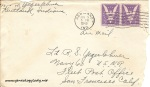 June 5, 1943 envelope