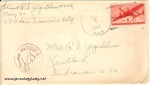 June 8, 1943 envelope